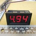 1 pcs Voltímetro Digital 4.5-30 v/DC 4.5 V a 30 V Voltímetro Digital de Tensão Medidor de Painel para 6 V 12 V Electromobile Moto Car