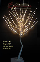 52 Pure White 160LED Willow Tree Light Branch Tree Light Or Twig Light With Base Holiday