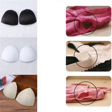3ab8fe92c3 2018 Hot Selling Sweet Bra Cup Pads Insert Triangle Chest Breast Bikini  Underwear Removable Bra Cup