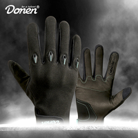 DONEN Cycling Gloves Touch Screen GEL Bike Gloves Sport Shockproof MTB Road Full Finger Bicycle Glove For Men Guantes Ciclismo