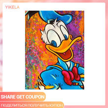 Cartoon Cross Stitch 5D Home Decoration Holiday Gift DIY Donald Duck Diamond Painting Full Square Drill Needlework(China)