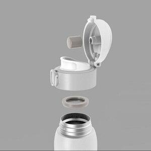 Image 3 - Youpin VIOMI Tasse Edelstahl Vakuum 24 Stunden Flask Wasser Smart Flasche Thermos 460ML