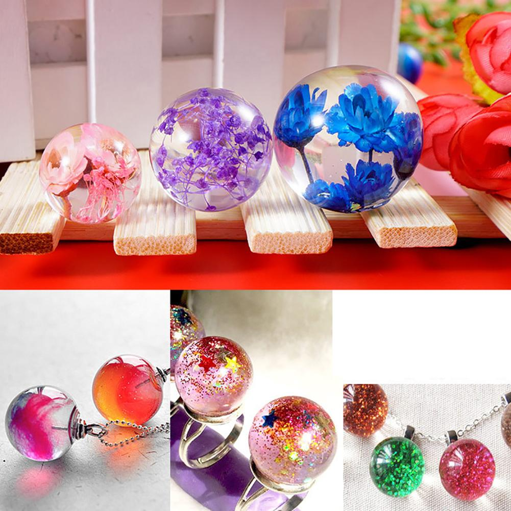 Drop Ball DIY Resin Mold Silicone Mould Epoxy Resin Mold For Jewelry Making DIY Handmade Necklace