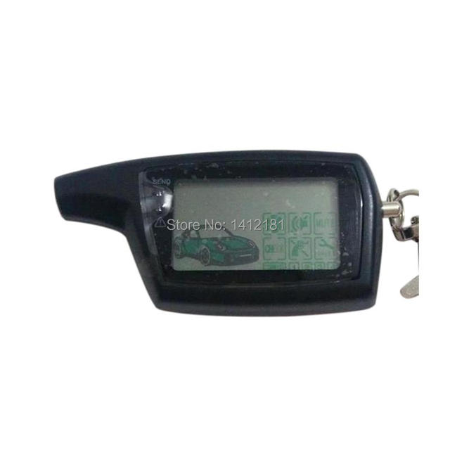 DXL 3000 LCD Remote Control Keychain for Russian Version Vehicle Security Two way car alarm system Key Chain PANDORA DXL3000