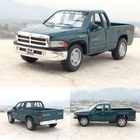 Brand New 1/44 Scale USA Dodge Ram Pickup Truck Diecast Metal Pull Back Car Model Toy For Kids Gift Collection