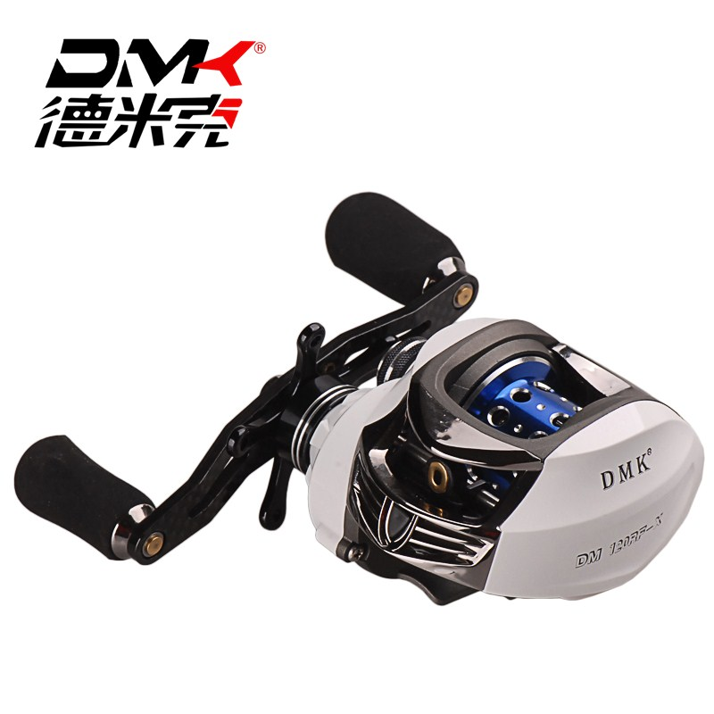 DMK Baitcasting Fishing Reel 7.0:1 13+1BB Left/Right Hand Carp Fishing Reel High Speed Baitcasting Reel Carretilha Pesca цена 2017