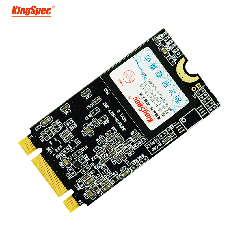 22x42mm kingspec 256GB M.2 solid state hard drive with 256MB Cache NGFF M.2 interface SSD for ultrabook laptop intel platform image