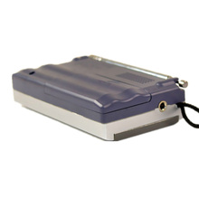 Top Deals Silver Mini Portable AM/FM Telescopic Antenna Radio