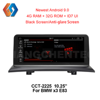 10.25 Touch Screen Car GPS Multimedia For BMW X3 E83 2004 2009 Android 9.0 Radio Built in WiFi BT Supports DVR Mirror Link TV25