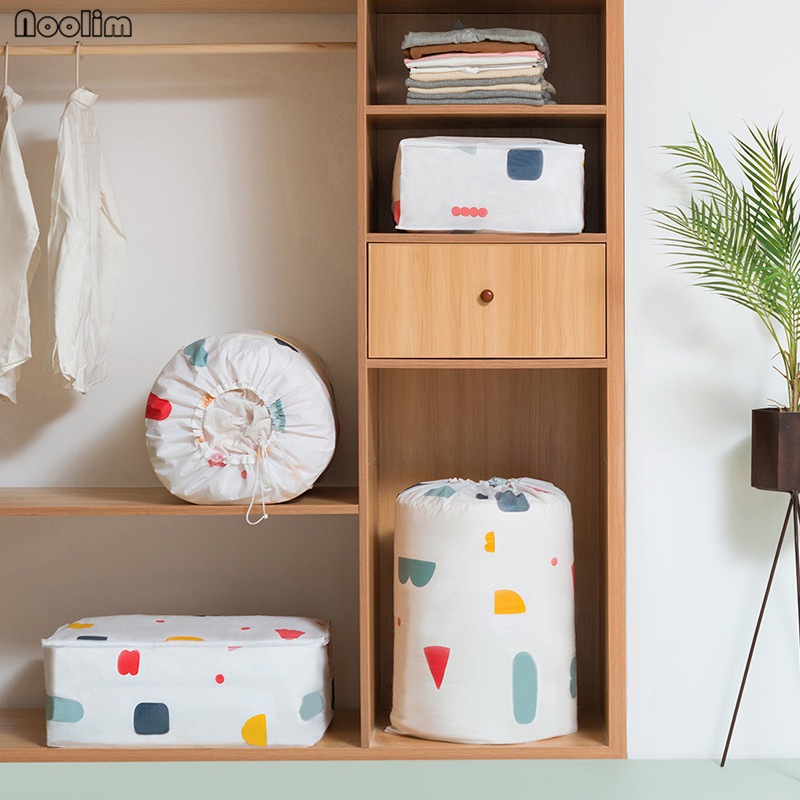 NOOLIM Washable Wardrobe Clothes Storing Bags Storage Bags Plus Size  Finishing Storage Bags Save Space Home