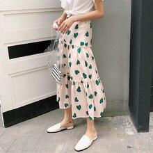 822478b7e Compra heart print skirt y disfruta del envío gratuito en AliExpress.com
