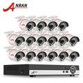Последние ANRAN 1080N 16-КАНАЛЬНЫЙ HDMI DVR Открытый Системы Видеонаблюдения Видеорегистратор AHD 720 P 1800TVL ИК Домашней Безопасности Камеры ВИДЕОНАБЛЮДЕНИЯ комплект