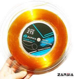 Image 4 - 1 بكرة ZARSIA مستديرة السلس تنس مضرب سلسلة راكيت تنس 4 جرام البوليستر تنس سلاسل 1.25 مللي متر 200 متر 4 ألوان