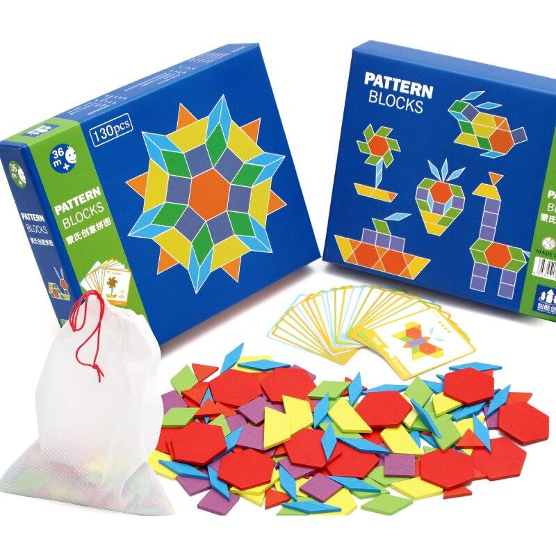 Montessori 130Pcs Animal Puzzles For Children Jigsaw ...