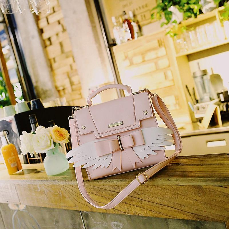 Japanese Cardcaptor Sakura Pink Handbag  2