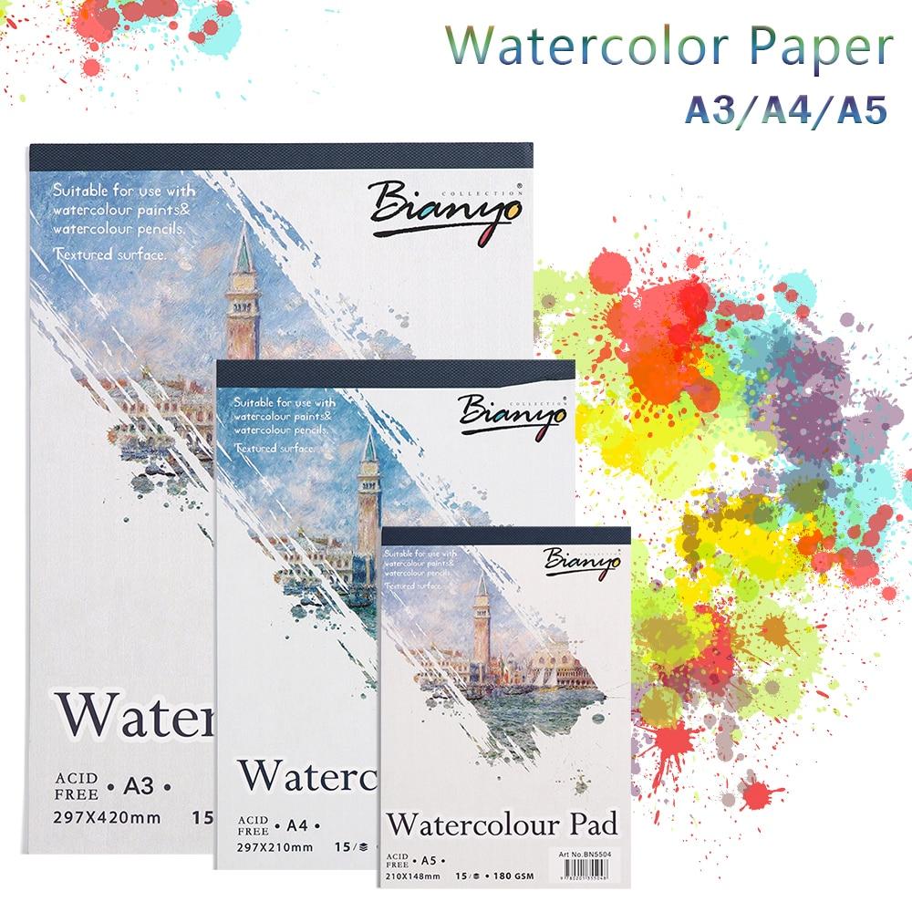 A3 A4 A5 Buku Sketsa Stationery Watercolor Kertas Sketsa Notepad Untuk Lukisan Menggambar Buku Harian Jurnal Kreatif Notebook Hadiah Seni Lukisan Kertas Aliexpress