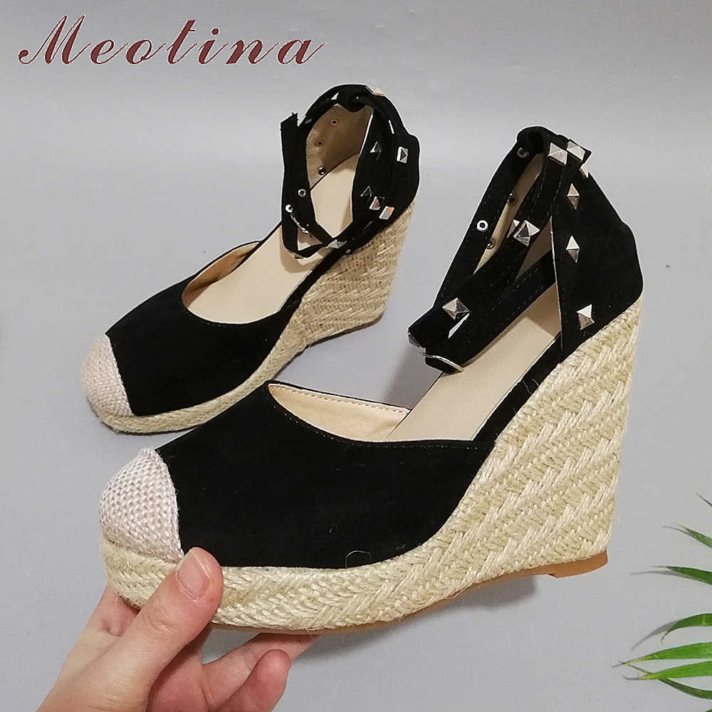 900f6ac86bd Detail Feedback Questions about Meotina Summer High Heels Women ...