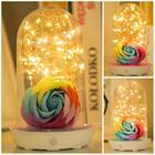 Novel LED Spark Style Bedroom Bedside Luminous Light USB Rechargeable Night Light