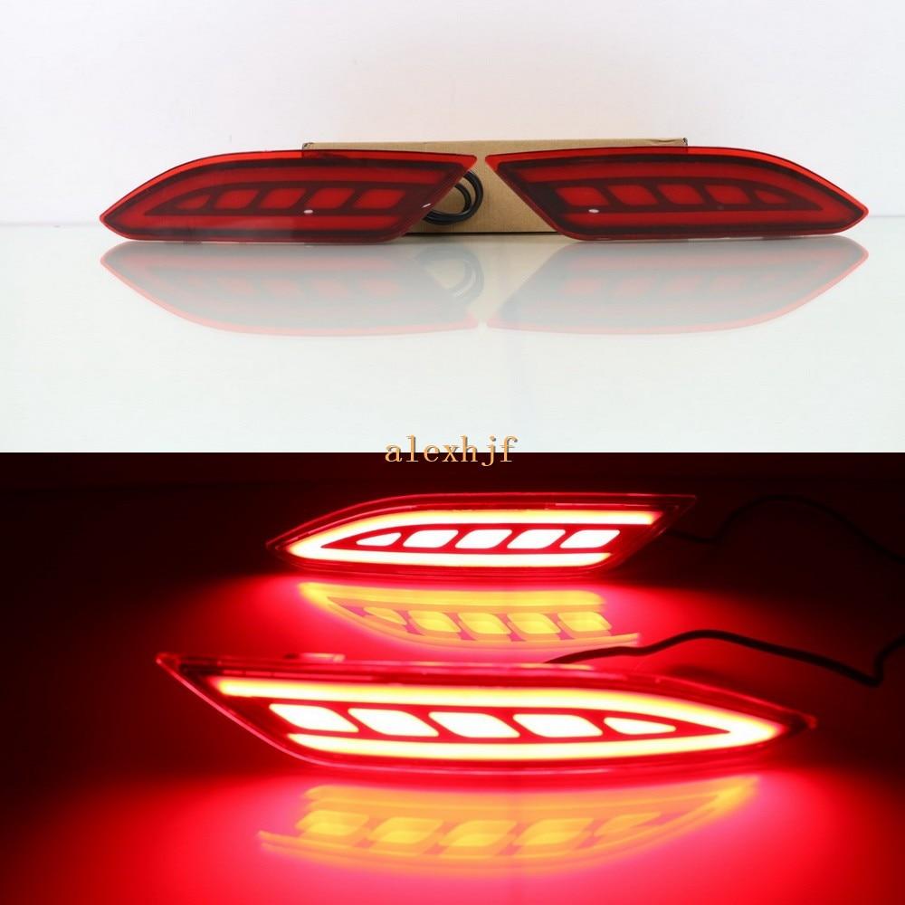 Július King Car LED-es vezető féklámpák + éjszakai menetjelző - Autó világítás