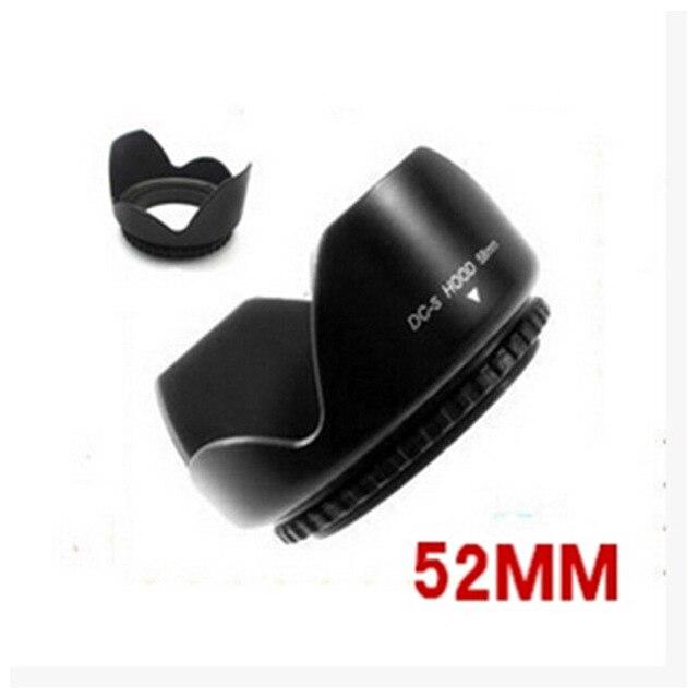 Lens Hood D3200 D3100 D5200 D5300 Camera Lens Hood 52mm Bằng Lưỡi Lê Phù Hợp Với cho Nikon nikor AF-S DX 18- 55mm f/3.5-5.6G VR II 52 Ống Kính