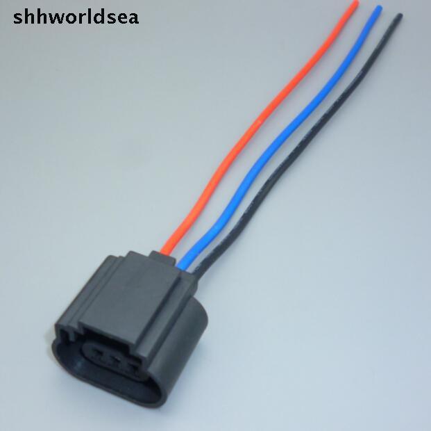 Cables, Adapters & Sockets Shhworldsea H13 9008 3 Pin Plastic Car Halogen Led Headlamp Bulb Socket Auto Lamp Holder Adapter H13 Auto Connector Plug