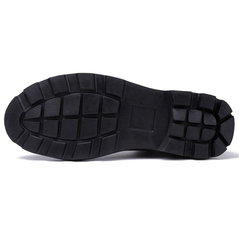 Homme blanc Pu Adulto Cuir Noir Zapatos Noir Respirant Casual Hommes Chaussures kaki De Hiver En Couleur D'hiver Haute Tenis Masculino Hombre nqqHx6X