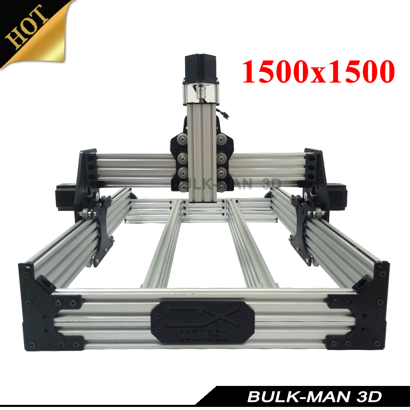 OX CNC Mechanical Kit with 4pcs Nema Stepper Motor for DIY Desktop CNC Router Wood Engrave Machine 1500*1500mm ox cnc mechanical kit with 4pcs nema stepper motor for diy desktop cnc router wood engrave machine 1000 1000mm