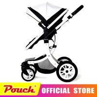 Teknum детская коляска может сидеть без каблука лежа высокий пейзаж складной для маленьких детей новорожденных детей тележки