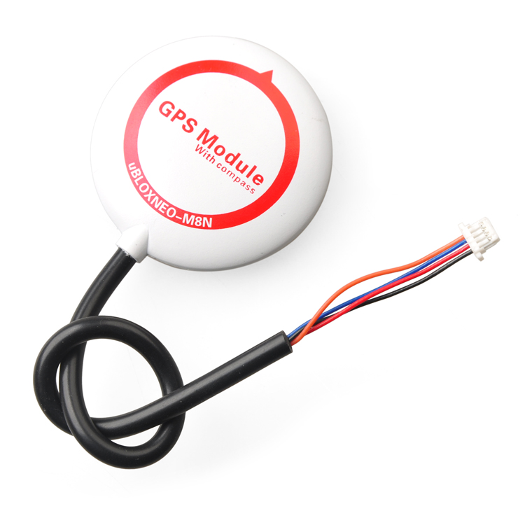 ФОТО New Mini M8N GPS Compass Module NEO-M8N GPS for APM 2.5/2.6/2.8 / CC3D / PX4 / SP Racing F3 / Naze32 Flip32 F16928/31