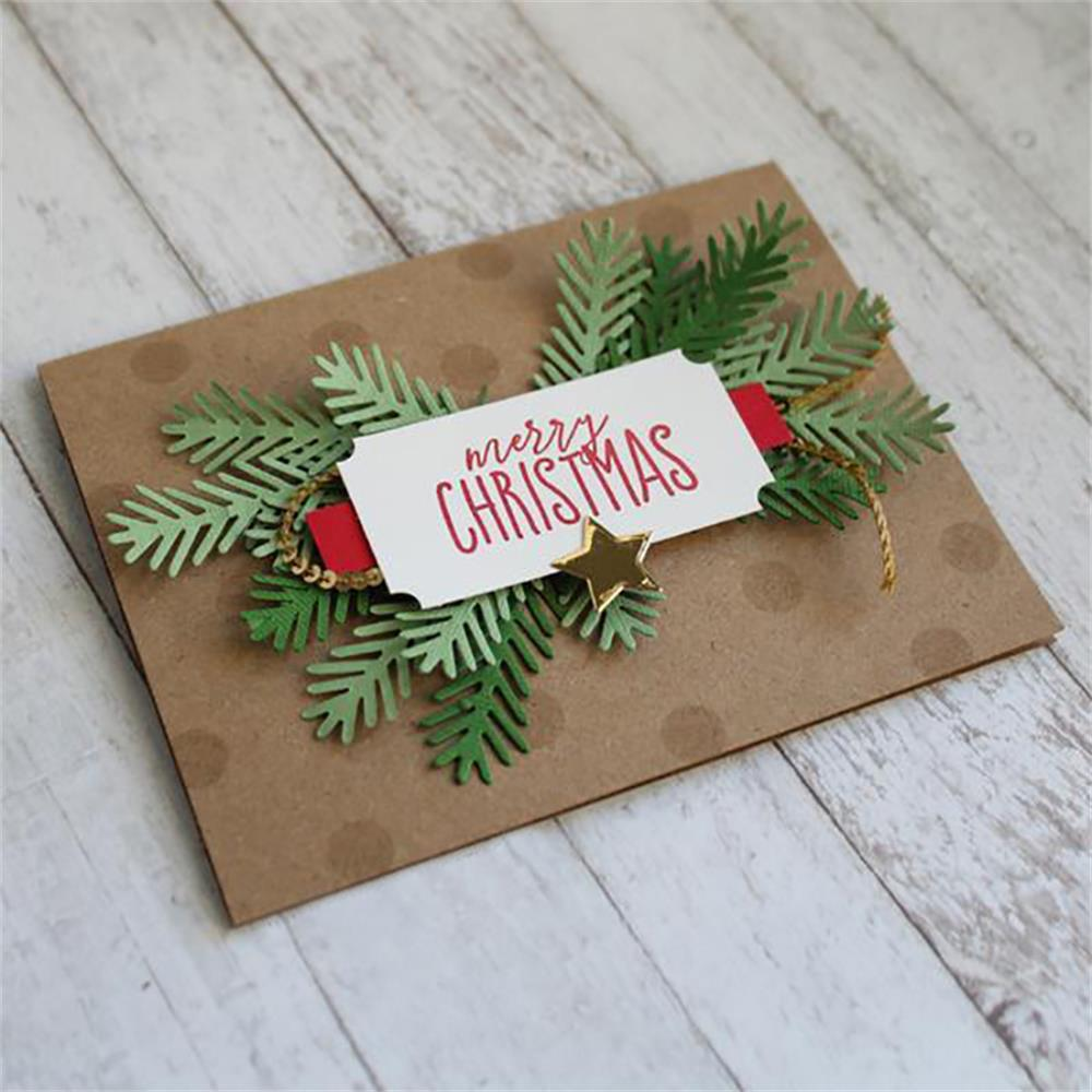 Tree Cutting Dies Album Photo Stencils Decor Paper Card Crafts Embossing