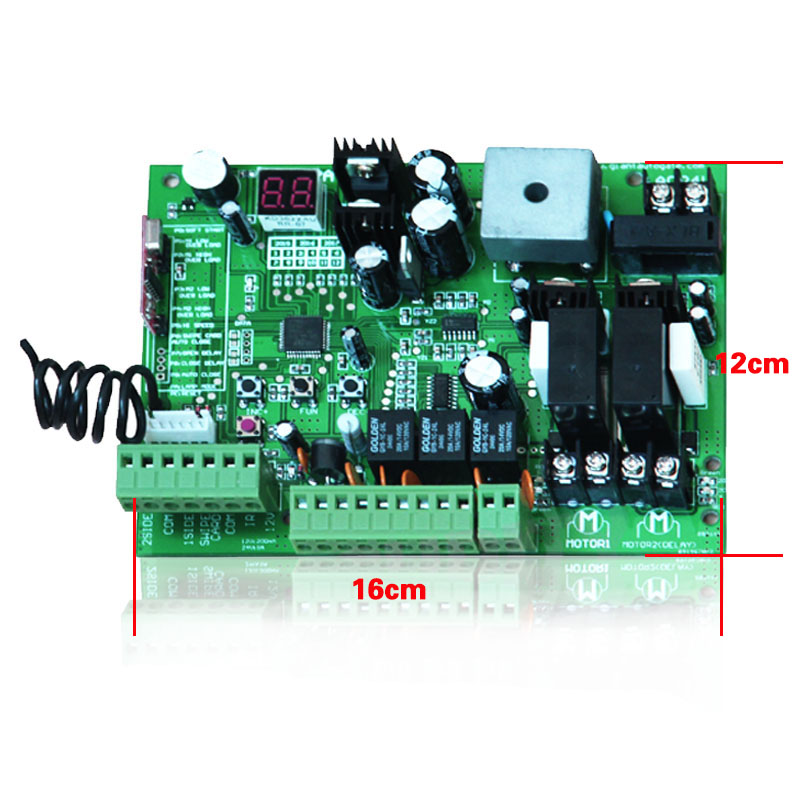 Image 3 - Universal use 24V DC PCB board of Automatic Double arms swing gate opener control board panel , motor ( Remote option )-in Access Control Kits from Security & Protection
