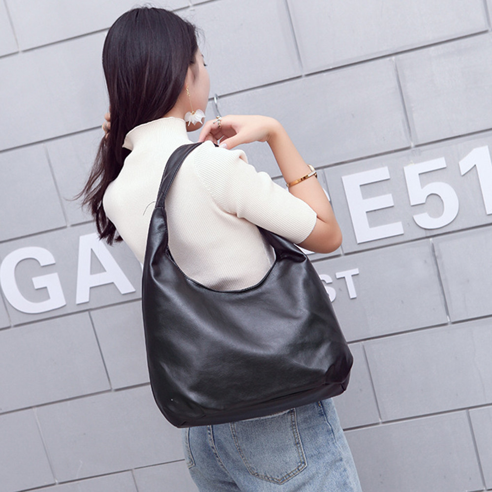 Bag Women Designer Handbag PU Leather Bags Handbags Ladies Portable Shoulder Bag Office Girls Hobos Bag Totes