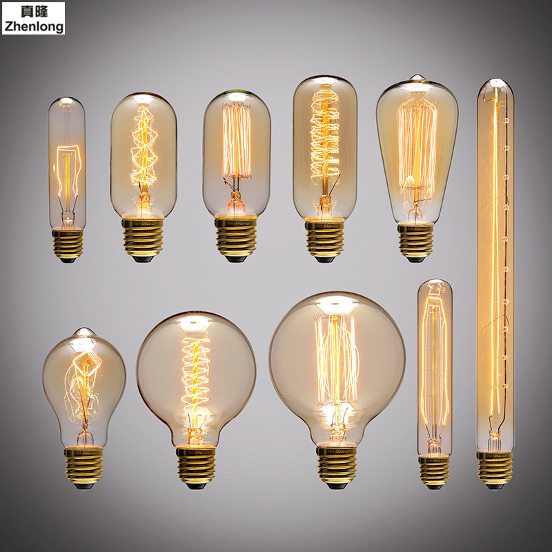 Retro LED Bulb E27 E26 LED Lamp 220V 240V LED Filament Light 2W 4W 6W 8W Glass Ball Bombillas LED Edison Bulb Light Decorative