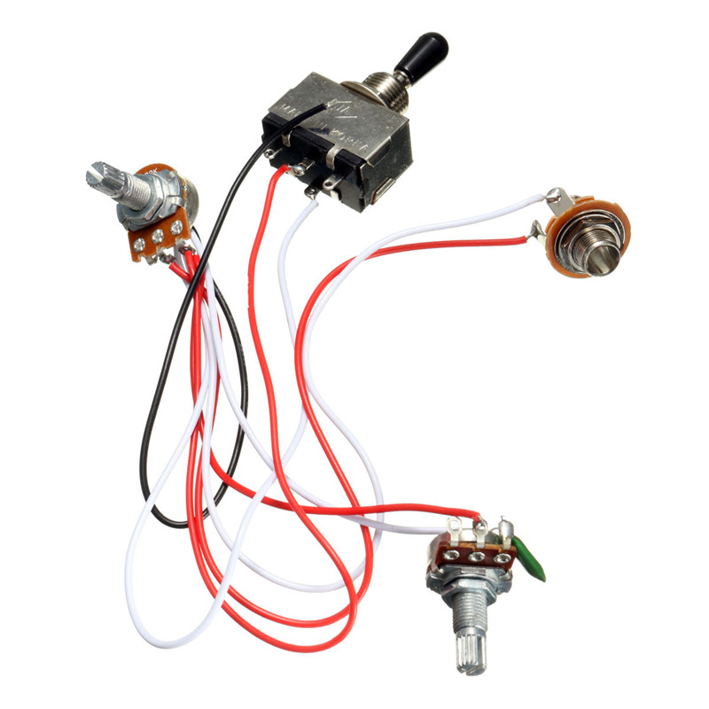 les paul toggle switch wiring diagram electric guitar wiring harness kit 3 way toggle switch 1 volume 1  electric guitar wiring harness kit 3