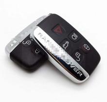 5 Автомобильный ключ с кнопкой чехол в виде ракушки Обложка для Land Rover Evoque Discovery 4 Rover Evoque XE XFL et Jaguar freelander