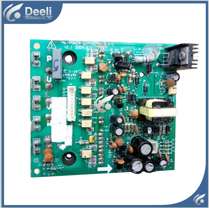 95% new good working for Air conditioning computer board ME-POWER-DIP(DZMK) ME-POWER-DIP(DZMK).D.1-1 circuit board good working for air conditioning board frequency module board me power 50a me power 50a ir341
