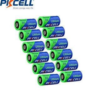 Image 4 - 24 Chiếc/Thẻ PKCELL 3V CR123A 2/3A Pin CR123A CR123 CR 123 CR17335 123A CR17345(CR17335) 16340 Pin Lithium 3V Pin