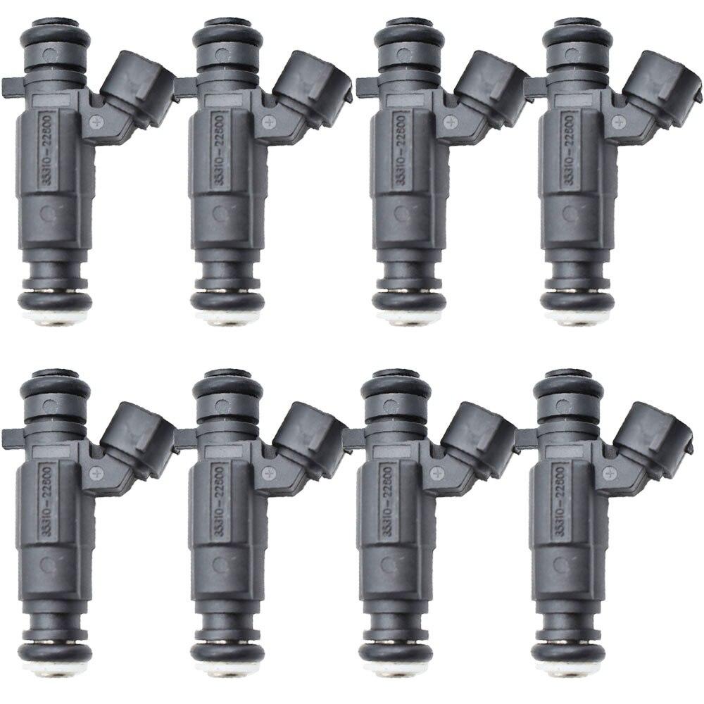 8pcs lot Fuel Injector nozzle For Hyundai Accent 1 5L 1 6L 00 05 35310 22600