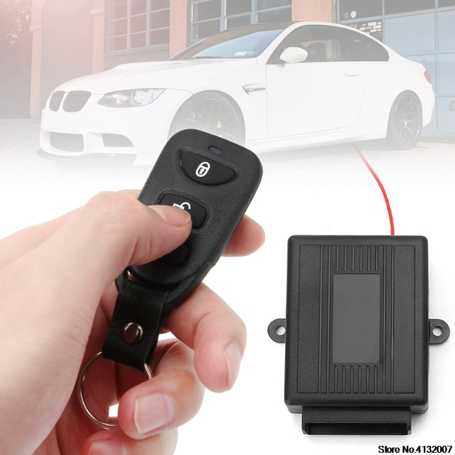 Best Price Universal Car Door Lock Vehicle Keyless Entry System Remote Central Kit w/Control Box Car Alarm System 828 Promotion