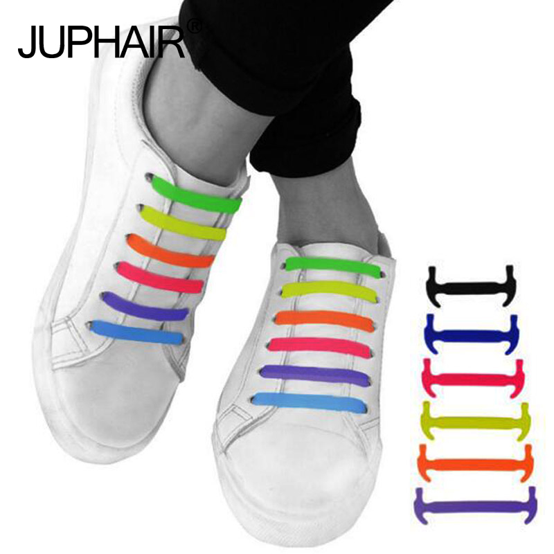 JUP 3 Sets (48Root) Boy Girl  Lazy Shoelace Lace Shoelace Buckle Flat Square Head Bracelet Canvas Leisure Sports Shoes  Silicone jup mens boy girls female children shiny lazy shoelace flat fluorescent luminous lazy laces glow buckle sports shoelace elastic