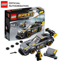 Original LEGO Building Blocks Speed Champions Series Mercedes AMG GT3 Car Toy Brick 196pcs Stacking Toy For Children Brinquedos