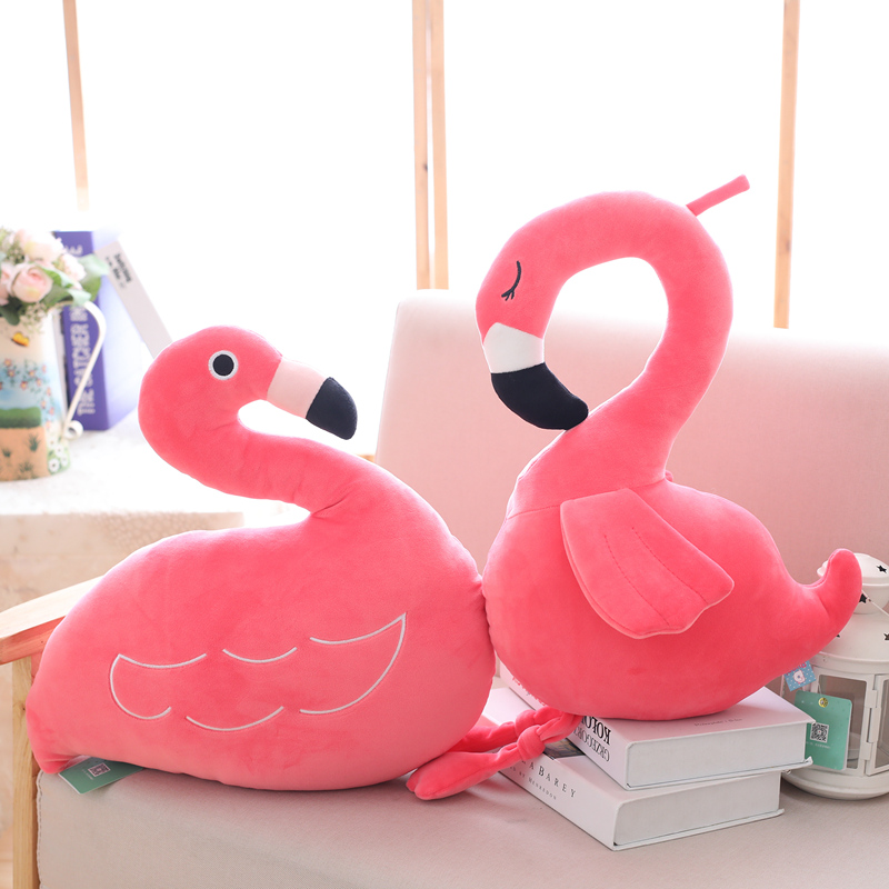 INS Hot Plush Leker Flamingos Doll Flamingos Pillow Fulle Dyr Leker - Dukker og utstoppede leker