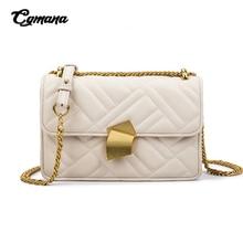 Bags For Women 2019 Diamond Lattice Chain Shoulder Bag Sling Lady Handbag Luxury Split Leather Female Crossbody