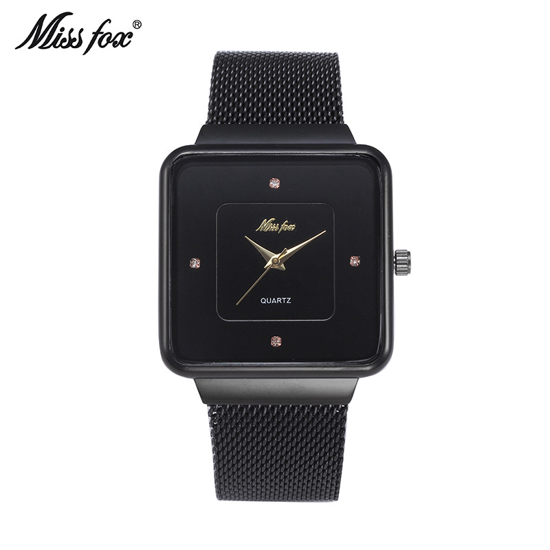 Miss Fox Women Watches Top Luxury Brand Gold Silver Steel Quartz Wrist Watch relogio feminino clock montre femme hodinky ceasuri