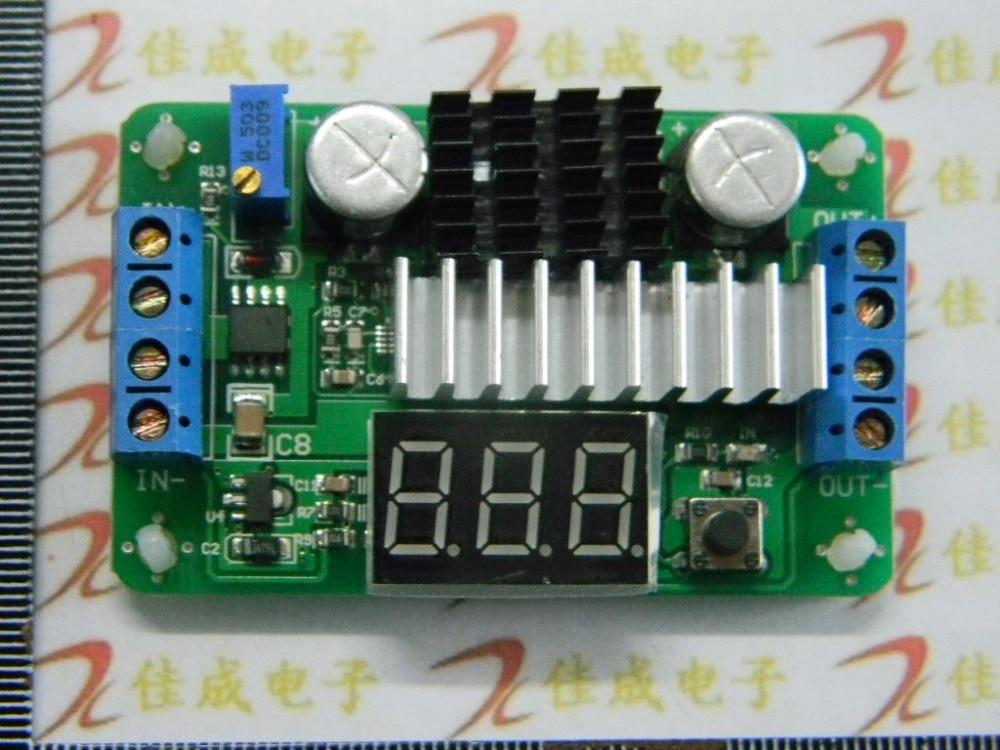 Mini LTC1871 100W/6A DC Power Source Step Up Converter DC DC 3.5V-30V 6A 100W Adjustable Converters + Red LED Voltmeter 100pcs ao3406 mosfet n ch 30v 3 6a sot23