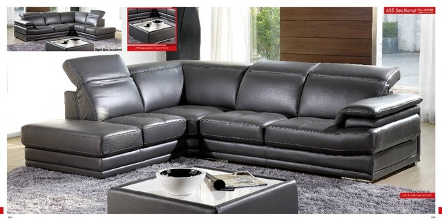 Leather Sofa Sectional  4