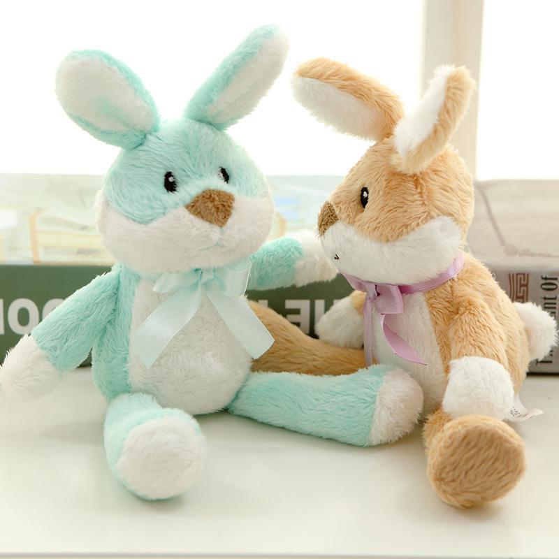 Super Cute Cartoon Macarons Rabbit Plush Toy Kawaii Bunny ...