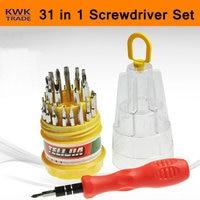 31 em 1 Precisão chave de Fenda Conjunto de Ferramentas Kit de Reparo Do PC Do Telefone Móvel Magnético Hex Torx Bolso Flexível Portátil Manual|Conjuntos ferramenta manual|Ferramenta -