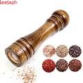 Мельница для соли и перца, твердые деревянная мельница для перца с сильным Регулируемый Керамический шлифовальные станки 5