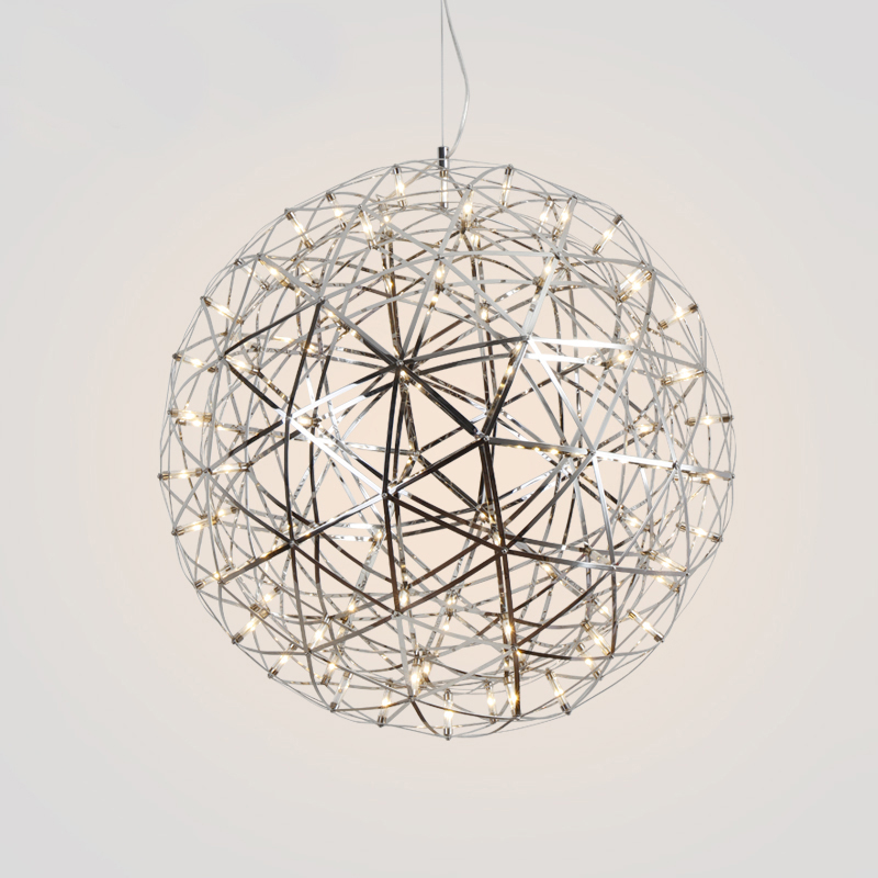 Nordic post-modern fireworks chandeliers creative personality Danish dining room bar bedroom sparks simple LED chandeliers